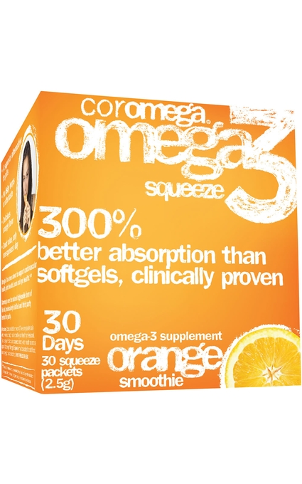 Omega-3 Squeeze Orange