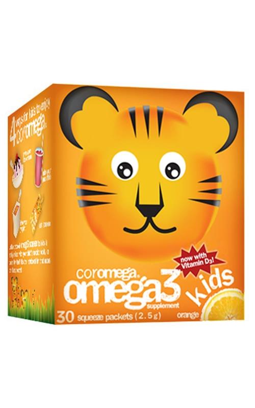 Kids Omega-3 Squeeze Orange