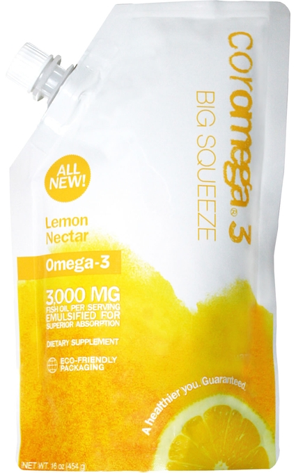 Omega3 Big Squeeze - Lemon
