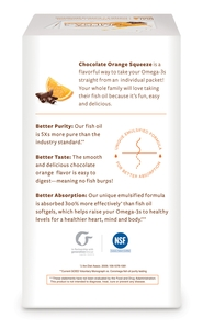 Omega-3 Squeeze Chocolate Orange 90
