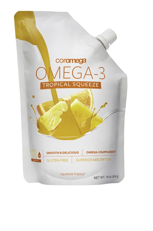 Omega-3 Big Squeeze - Tropical Orange + D