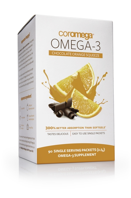 Omega-3 Squeeze Chocolate Orange 90