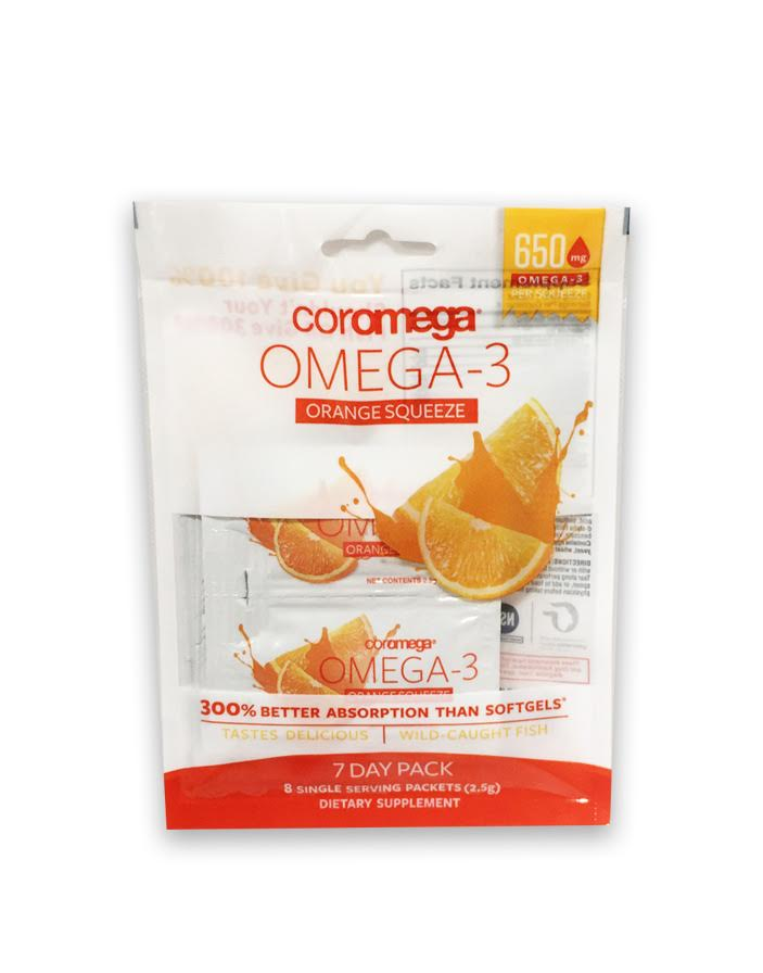 omega3 squeeze 7day sample pack - Omax 3
