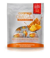 Omega-3 Squeeze Tropical Orange + Vit D Super Value Bag