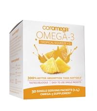 Omega-3 Squeeze Tropical Orange + Vit D