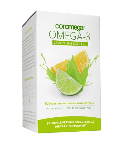 Omega-3 Squeeze Lemon Lime 90