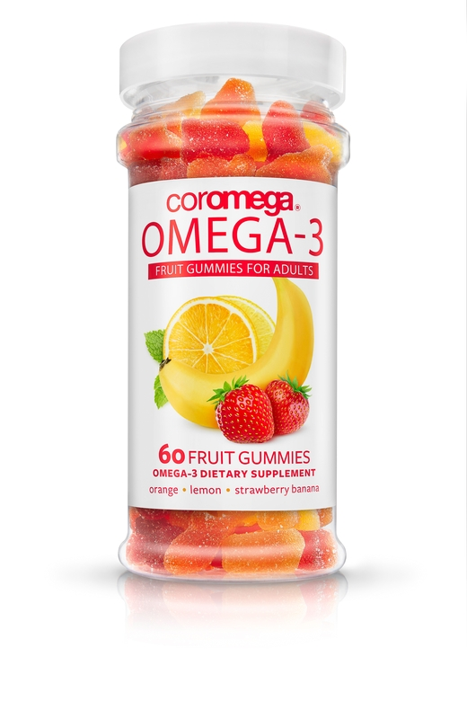 Adults DHA Omega-3 Gummy Fruits