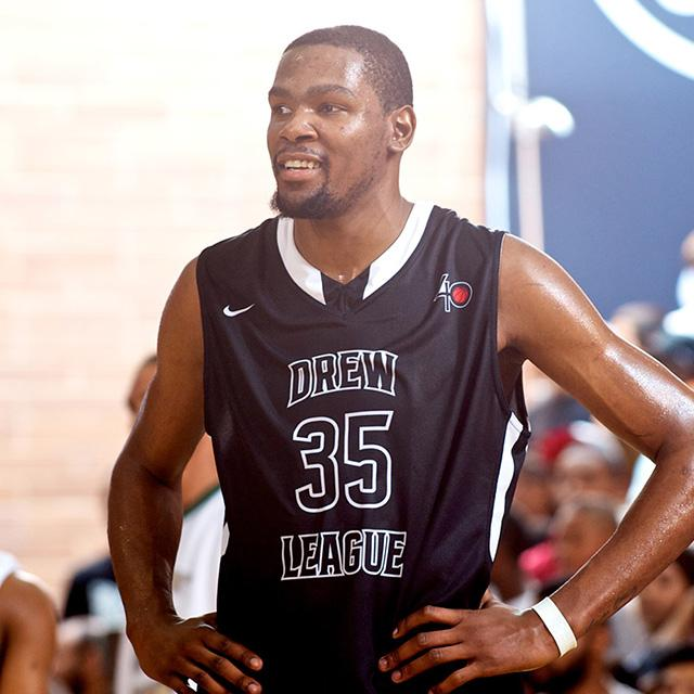 Surprise Kevin Durant Appearance at Nike Drew League