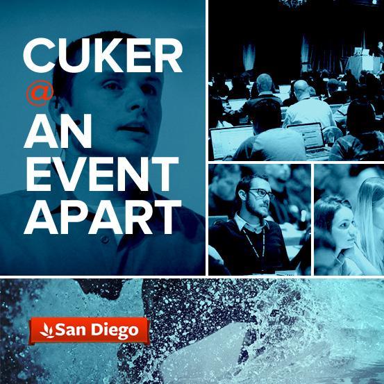 Cuker @ An Event Apart