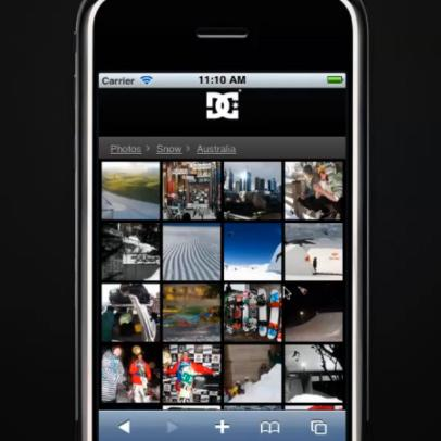 DC Shoes Mobile Demo