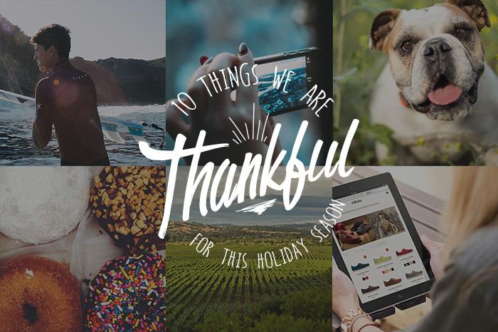 10 Things We Are Thankful For