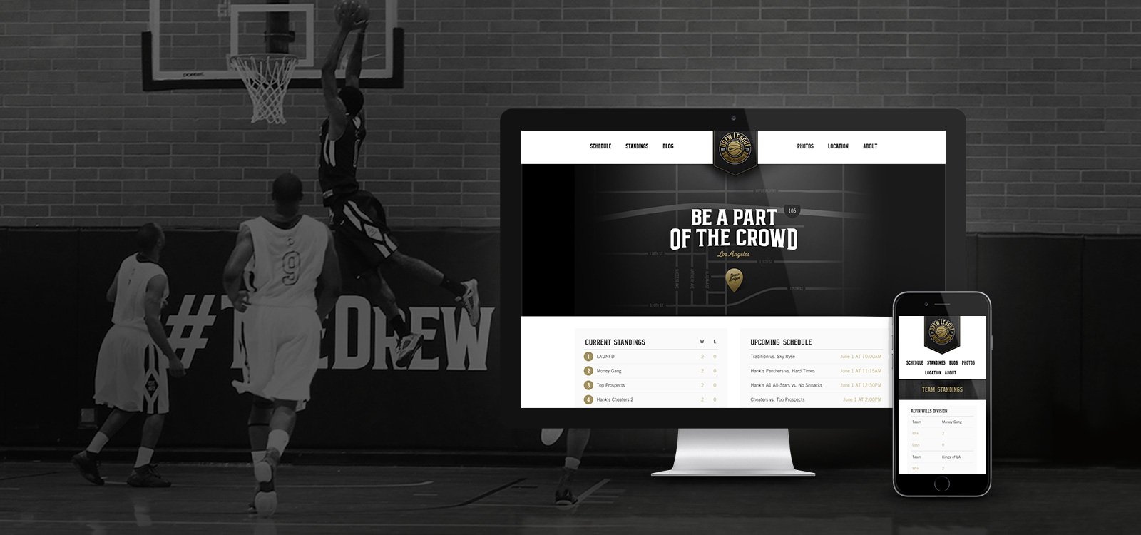Nike responsive website development