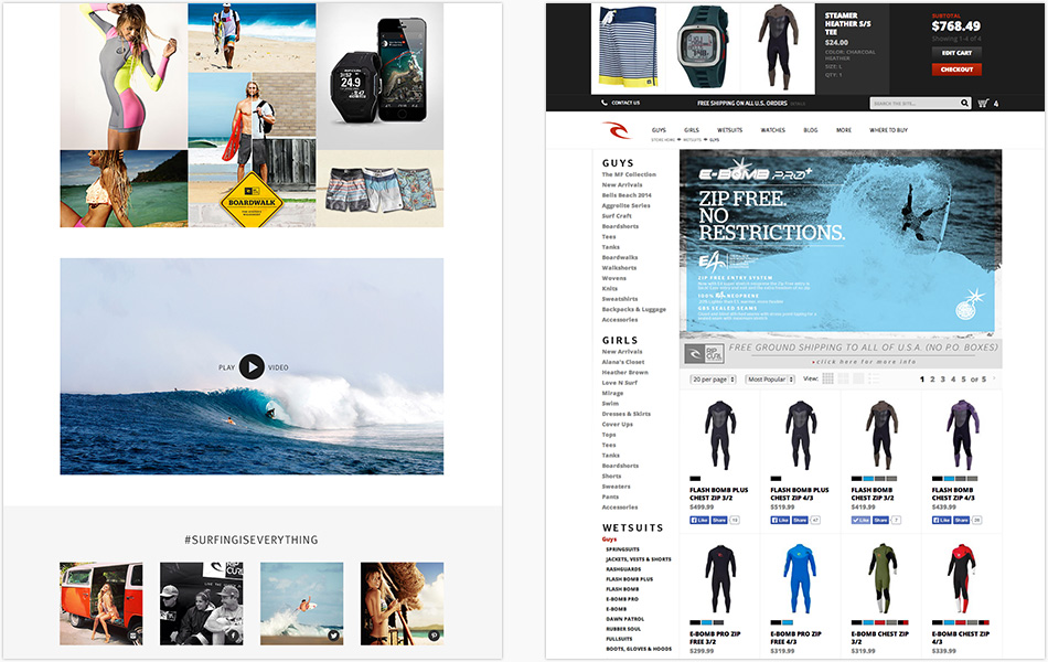 rip curl s operational strategies Rip curl is involved in the manufacturing of wetsuits and the  in additional to  rip curl's australian operations, the company also has corporate.