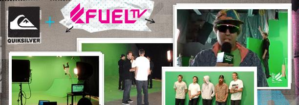 Fuel TV Goes Behind the Scenes at Quiksilver Viral Video Shoot
