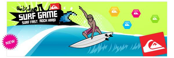 Quiksilver Game Scores as Viral Marketing Initiative