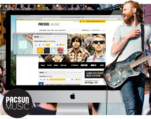 PacSun Turns Up the Volume with New Music Site