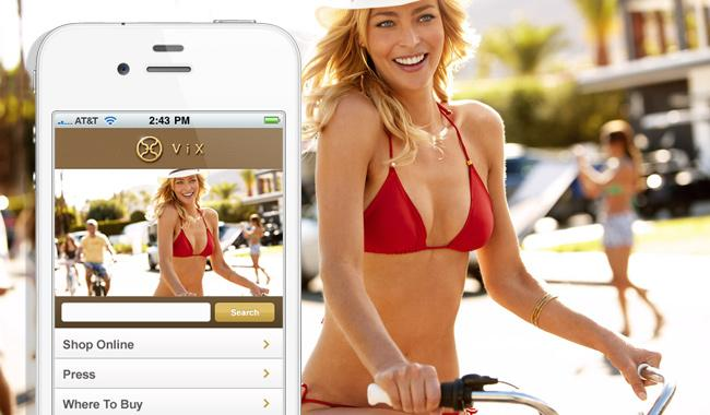 ViX Swimwear Makes a Splash with New Mobile Site