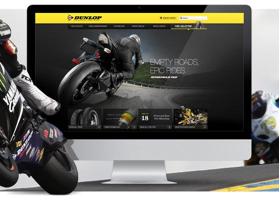 Dunlop Tires Revs Up Web Presence With New Website