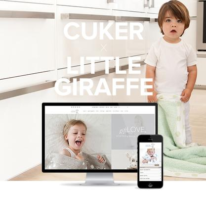 Little Giraffe Shares the LOVE With Redesigned Website