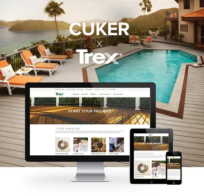 Trex Partners With Cuker on Complete Website Renovation