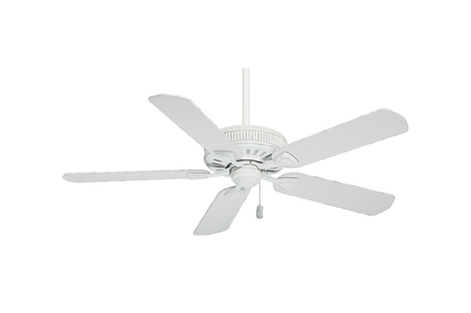 """54"""" Ainsworth Ceiling Fan - Cottage White"""