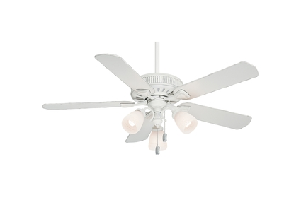 """54"""" Ainsworth Gallery Ceiling Fan - Cottage White"""