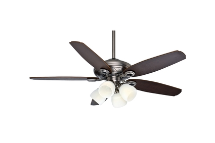 """54"""" Capistrano® Gallery Ceiling Fan - Antique Pewter"""