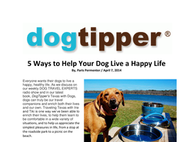 Dog Tipper
