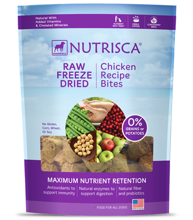 Nutrisca® Raw Freeze Dried Chicken Bites
