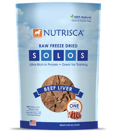 Nutrisca® Raw Freeze Dried Beef Liver Solos®