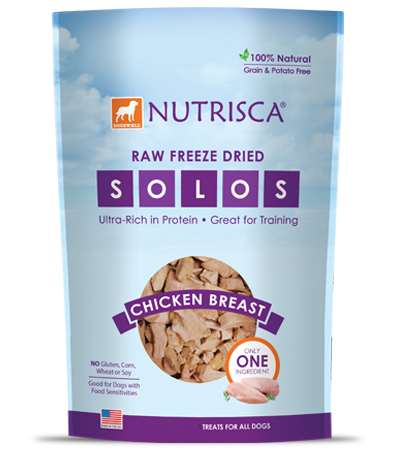 Nutrisca® Raw Freeze Dried Chicken Solos