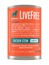 LiveFree® Chicken Stew Adult Dog Food