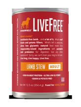 LiveFree® Lamb Stew Adult Dog Food
