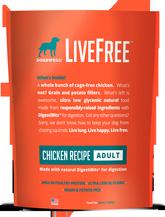 LiveFree® Chicken Adult Dog Food