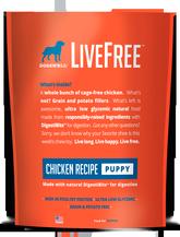 LiveFree® Chicken Puppy Dog Food