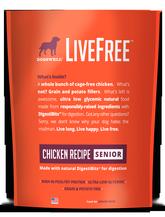 LiveFree® Chicken Senior Dog Food