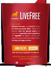 LiveFree® Lamb Adult Dog Food