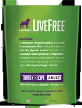 LiveFree® Turkey Adult Dog Food