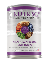 Nutrisca® Chicken & Chickpea Stew Dog Food