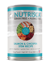 Nutrisca® Salmon & Chickpea Stew Dog Food