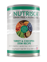 Nutrisca® Turkey & Chickpea Stew Dog Food