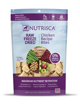 Nutrisca® Raw Freeze Dried Bites Chicken Treats