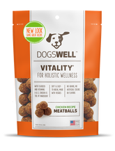 Vitality® Meatballs Chicken Recipe Treats