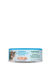 Nutrisca® Truly Flaked® Sardine & Seabream Entrée In Savory Broth Canned Cat Food