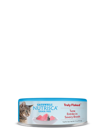 Nutrisca® Truly Flaked® Tuna Entrée In Savory Broth Canned Cat Food
