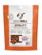 Vitality®Duets Bison and Cheddar Treats