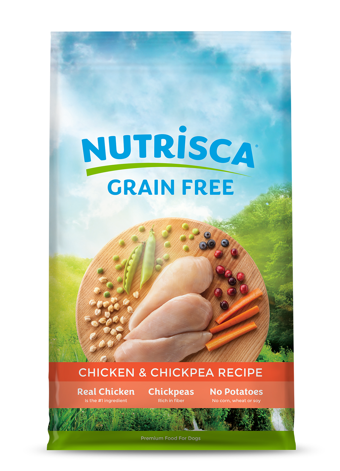 Chicken chickpea dog food nutrisca chicken chickpea dog food forumfinder Image collections