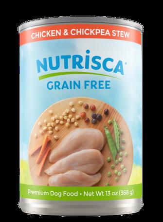 Nutrisca® Chicken & Chickpea Stew Dog Food