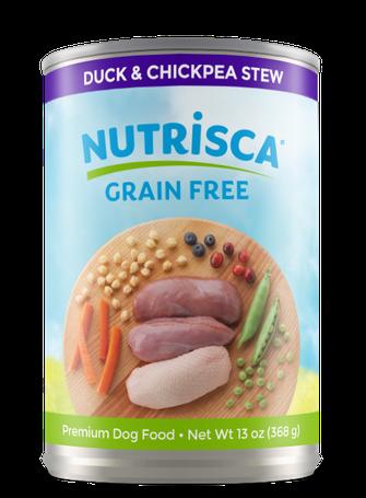 Nutrisca® Duck & Chickpea Stew Dog Food
