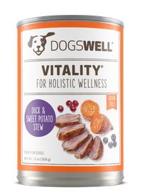 Vitality® Duck & Sweet Potato Stew Dog Food